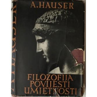 Arnold Hauser: Filozofija povijesti umjetnosti